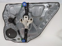 Volkswagen Polo (9N1/2/3) Hatchback 1.2 (BMD) WINDOW MECHANISM LEFT REAR 2006  6Q4839461D/1240583/3B4839015AG/6Q4839401C/03B083790