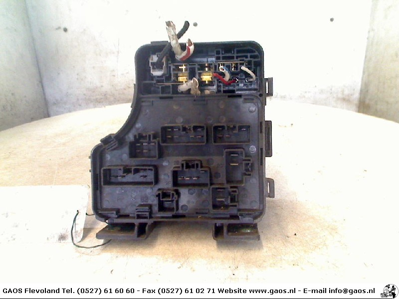 fuse box toyota carina e (t19) sedan 1.6 gli 16v (4afe) (1993-06) - used  car, motorcycle and truck parts | totalparts  total parts