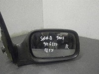 Saab 9-3 I (YS3D) Hatchback 2.0t 16V (B204E) SIDE MIRROR RIGHT 0