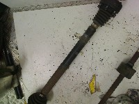Seat Arosa (6H1) Hatchback 1.4 MPi (APQ) DRIVE SHAFT RIGHT 1999